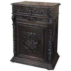 19th Century Flip-Top Library Cabinet