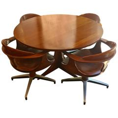 Heywood Wakefield Cliff House American, 1960s Dining Set