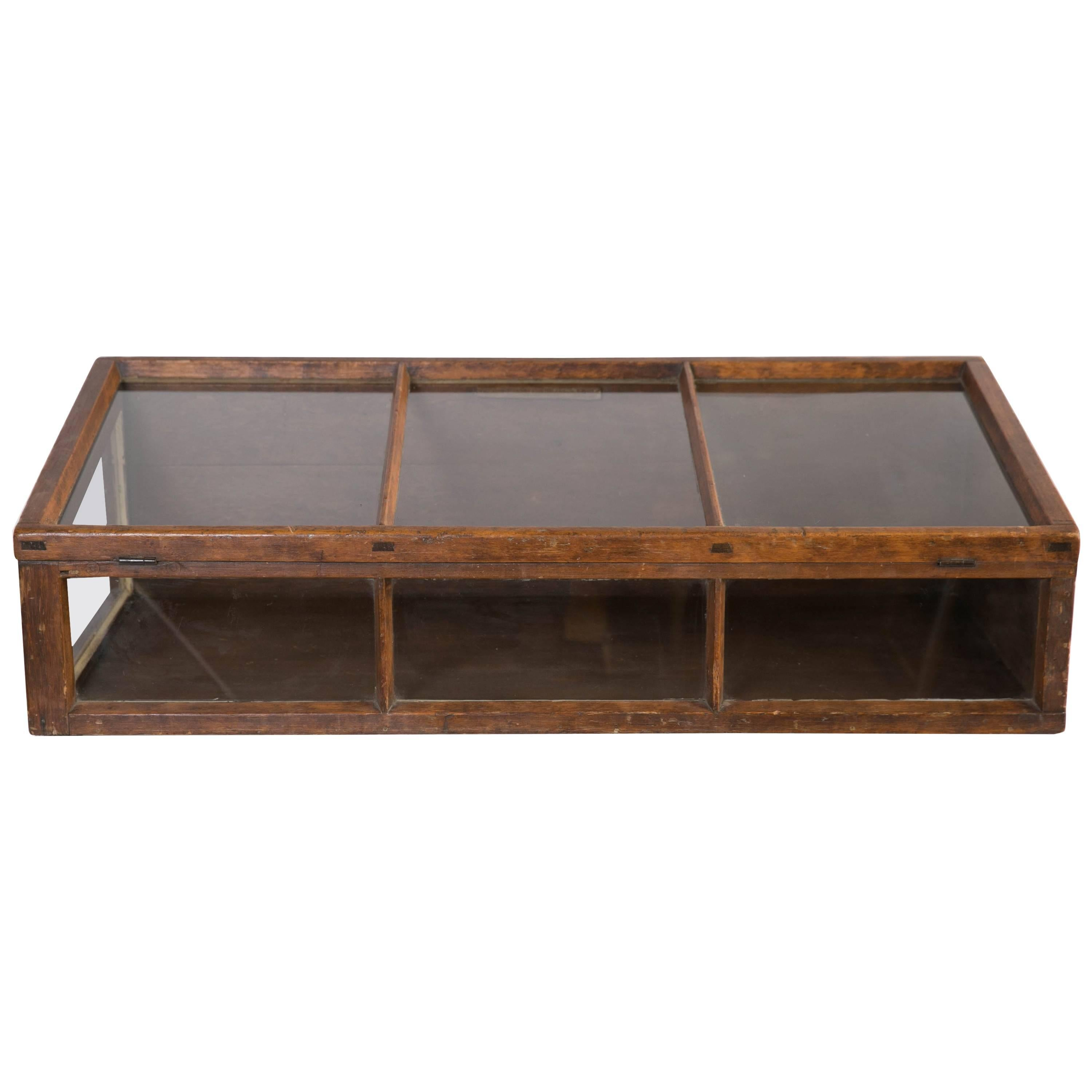 antique tabletop store display cabinet for sale at 1stdibs rh 1stdibs com