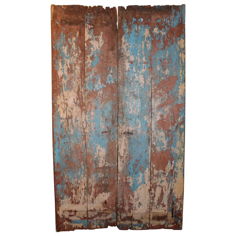 Antique south asian door as wall decor for sale at 1stdibs for Antique door decoration