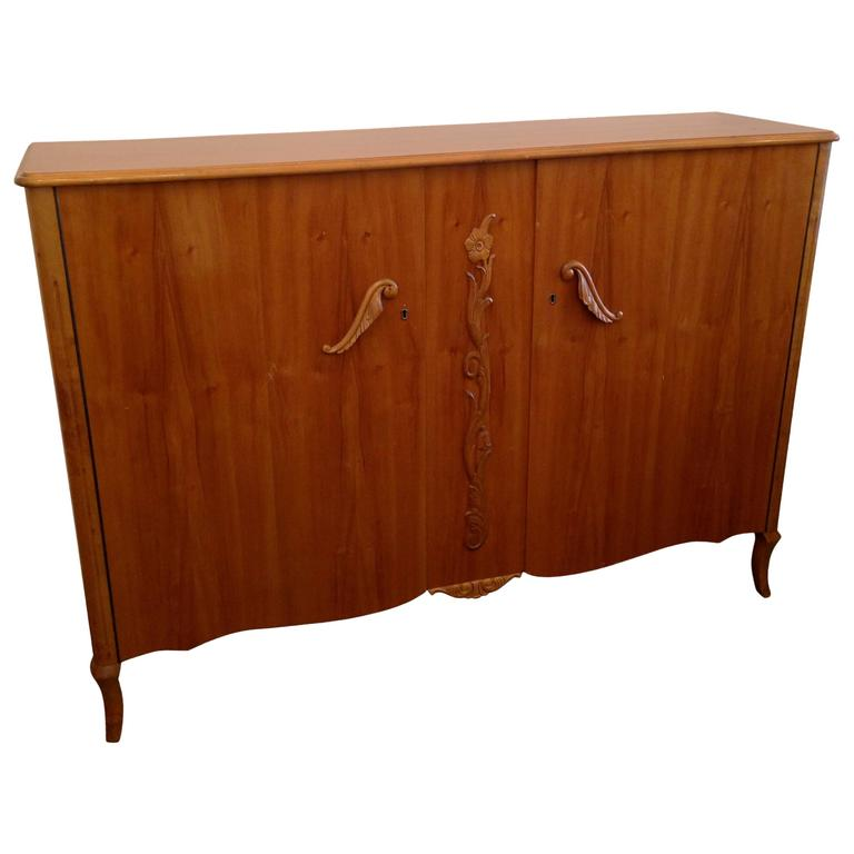 Swedish 1940s blonde cabinet at 1stdibs for 1940s kitchen cabinets for sale