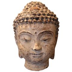 Buddah Accessory in Aged Paint Patina