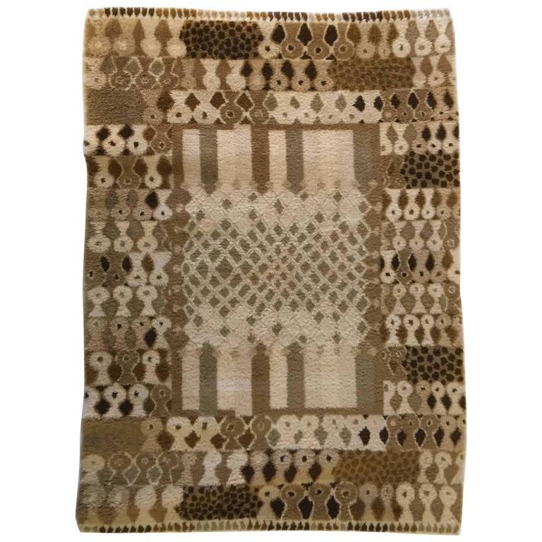 Rare Jacques Borker Rug For Sale