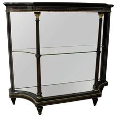 English Victorian Aesthetic Movement Open Display Cabinet