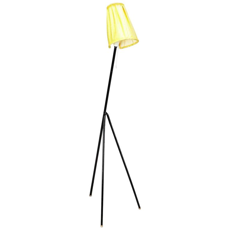 1950s Modern Tripod Floor Lamp Model Giraffe by Hans Bergstrom