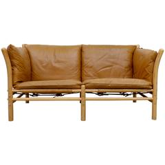 Arne Norell Ilona Leather Sofa, 1960s