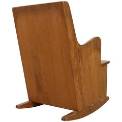 1930s Rocking Chair By Frits Henningsen For Sale At 1stdibs