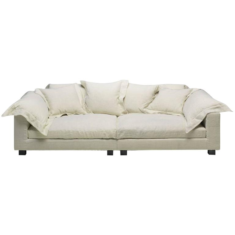 Nebula Nine Sofa by Moroso with Goose Down Cushions For Sale
