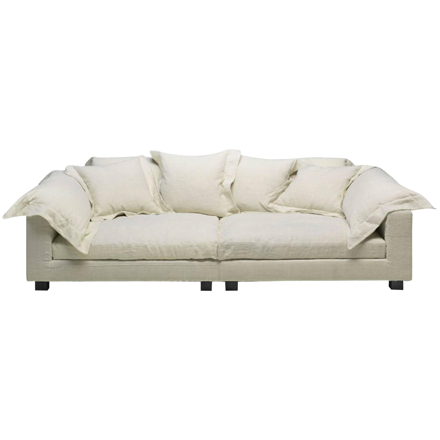 Nebula Nine Sofa by Moroso with Goose Down Cushions For Sale at