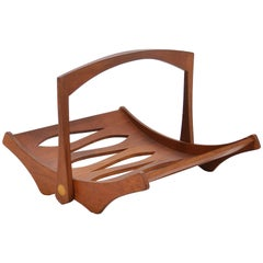 Jens Quistgaard Teak Magazine Holder by Dansk