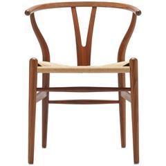 Hans Wegner Walnut CH24 / Wishbone Chair by Carl Hansen