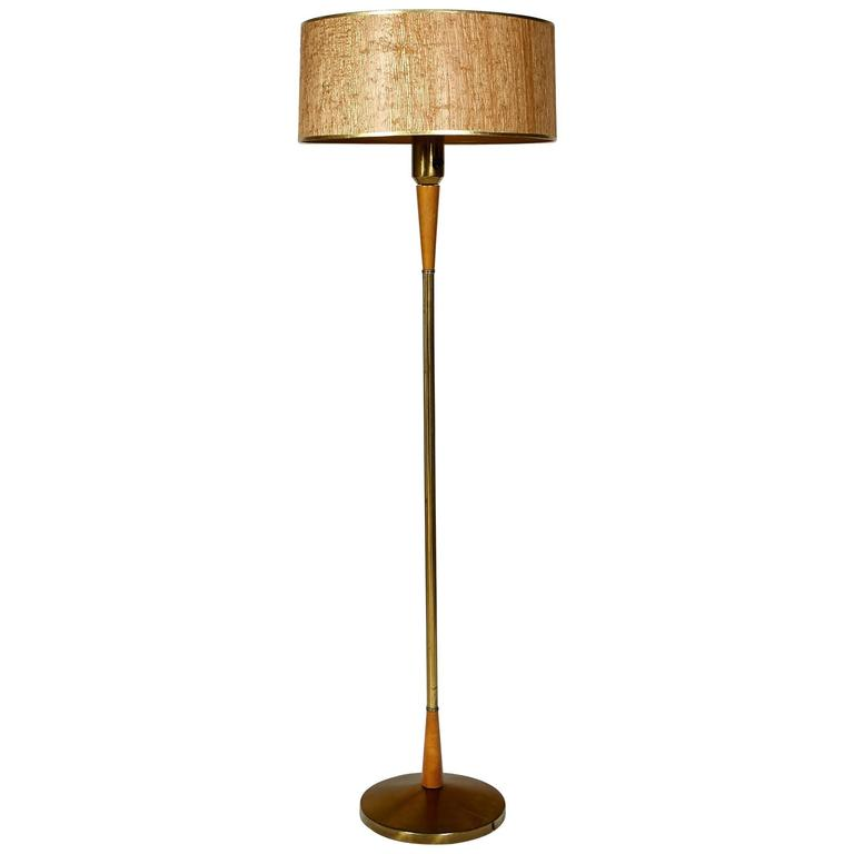 Gerald Thurston for Lightolier Floor Lamp For Sale at 1stdibs