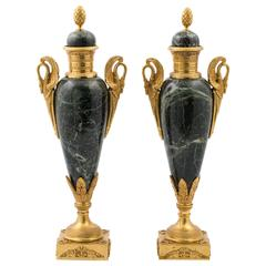 Pair of Empire Style Vases