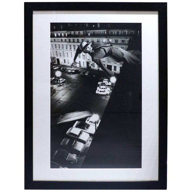 helmut newton framed poster fashion french vogue paris 1978 for sale at 1stdibs. Black Bedroom Furniture Sets. Home Design Ideas