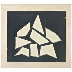 "Jean Legros, ""Composition"", 1961, Frankreich"