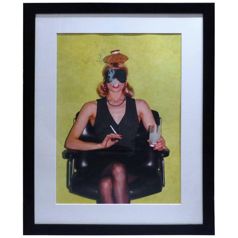 helmut newton framed poster by willi fashion nova paris 1973 at 1stdibs. Black Bedroom Furniture Sets. Home Design Ideas