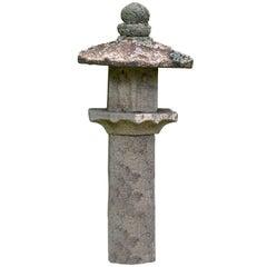 Japanese Stone Lantern Garden Sculpture
