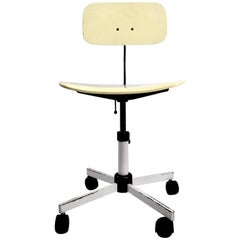 Adjustable Danish Modern Kevi Desk Task Swivel Chair