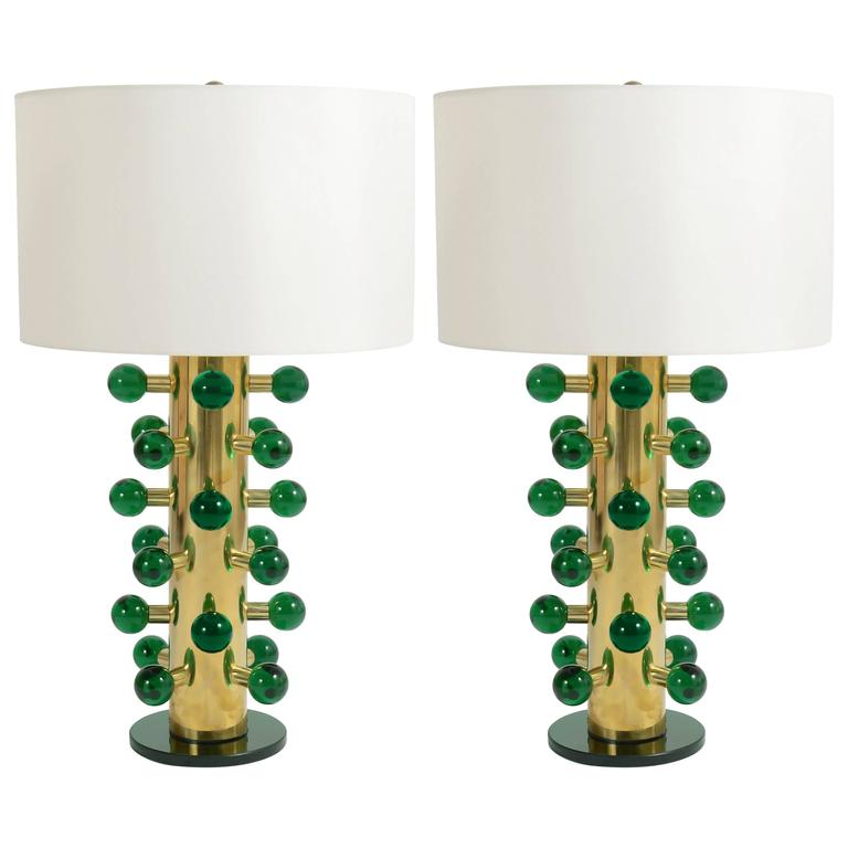 Pair of Module Table Lamps 1