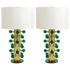 Pair of Module Table Lamps
