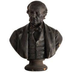 Plaster Bust of Sir John Gladstone, circa 1950