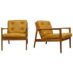 Pair of USA-75 by Folke Ohlsson for DUX, 1950s