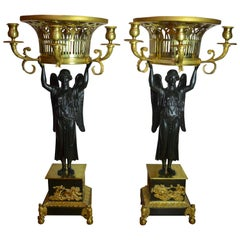Pair of Empire Candelabra Attributed to Thomire for the Russian Market