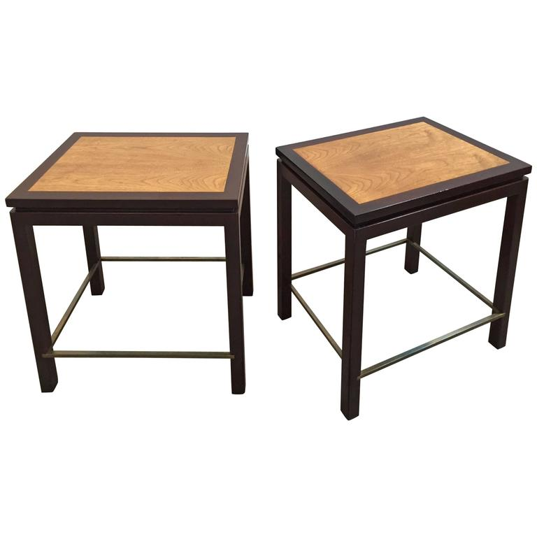 Pair of Tables by Edward Wormley for Dunbar Furniture 1