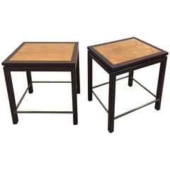 Pair of Tables by Edward Wormley for Dunbar Furniture