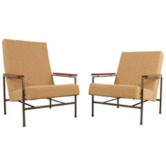 1960s, Dutch Lounge Chairs by Rob Parry for Gelderland, Set of Two