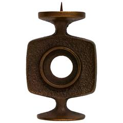 Small Brutalist Candlestick, Germany, 1960s