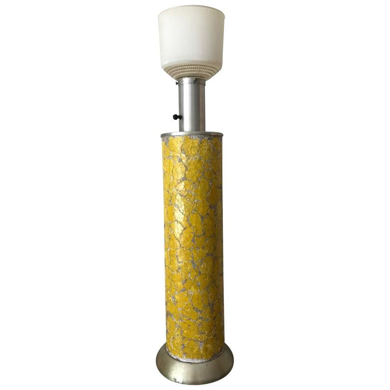 Tall Ceramic Lamp by Bouck White