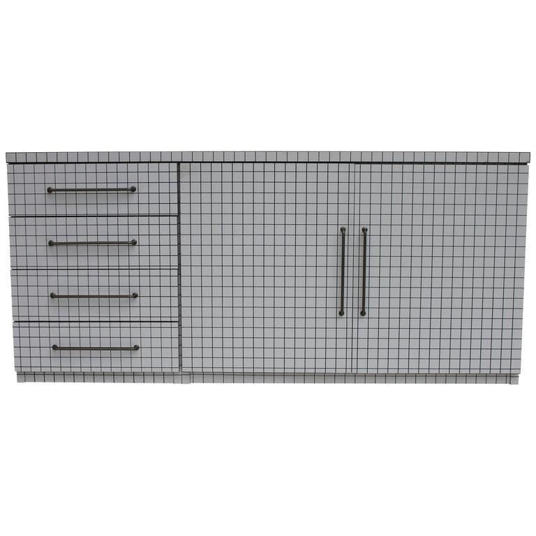 Quaderna Sideboard by Superstudio