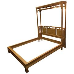 Asian Themed Century Bed Frame
