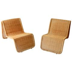1963s Italian Pair of Armchairs BR3 by Tito Agnoli