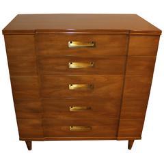 John Stuart for Widdicomb Five-Drawer Tall Dresser