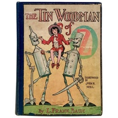 "1920'S ""The Tin Woodsman"" by Frank L. Baum, Early Edition"