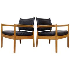 Gunnar Myrstrand Easy Chairs by KäLlemo, Sweden, 1960s