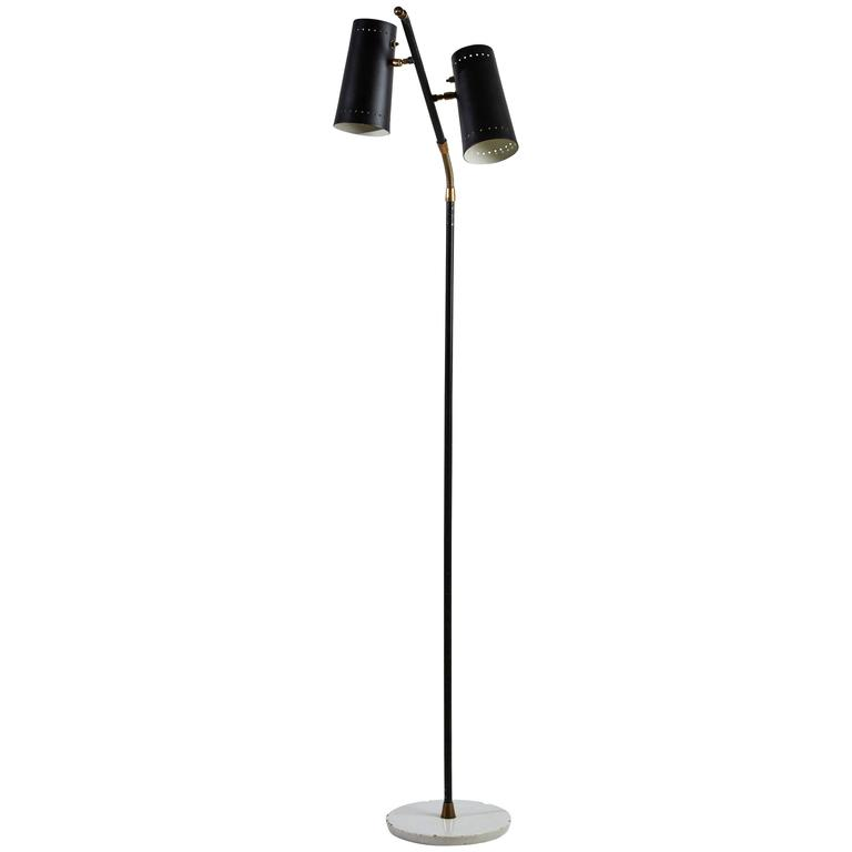 Double Shade Floor Lamp by Stilux