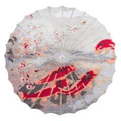 Handgefertigter Teppich mit Koi-Muster von Vito Nesta