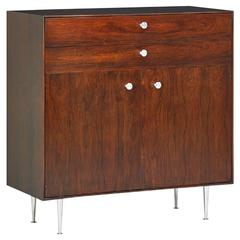 George Nelson Mid-Century Thin Edge Cabinet in Brazilian Rosewood