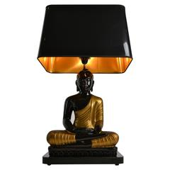 Buddha Table Lamp, 1970s