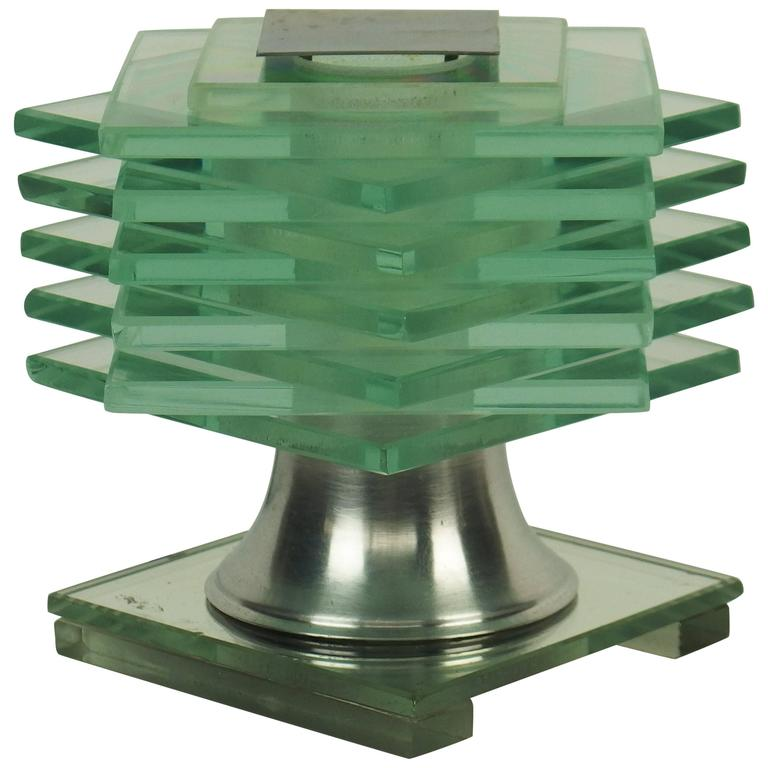 Art Deco Table Lamp Designed by Clément Nauny 'Desny'