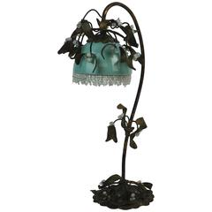 1920s Mistletoe Table Lamp