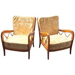 1940, Paolo Buffa, Two Armchairs