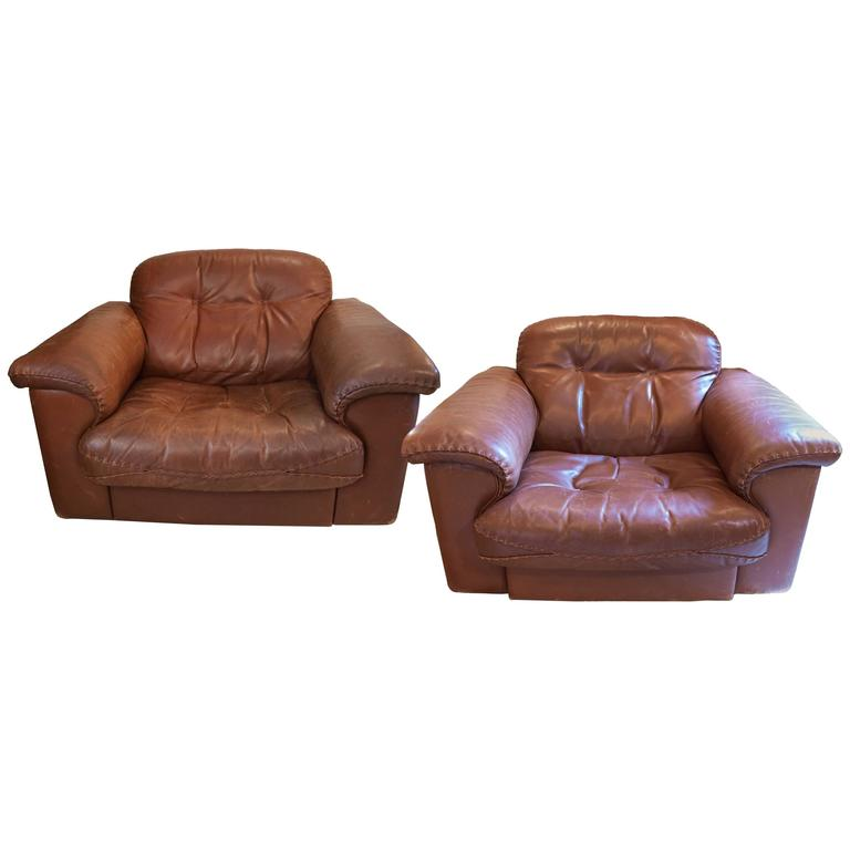 Pair of De Sede DS 101 Leather Reclining Armchairs 1969 1  sc 1 st  1stDibs & Pair of De Sede DS 101 Leather Reclining Armchairs 1969 at 1stdibs islam-shia.org