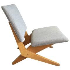 Stunning FB18 Scissor Chair by Jan Van Grunsven for UMS Pastoe, 1959