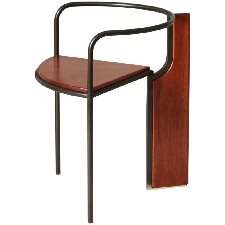 Fin Chair by Pelle and Erie Basin For Sale