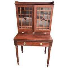 American Mahogany Writing Desk with Bookcase Norfolk VA