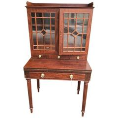 American Mahogany Writing Desk with Bookcase Norfolk VA